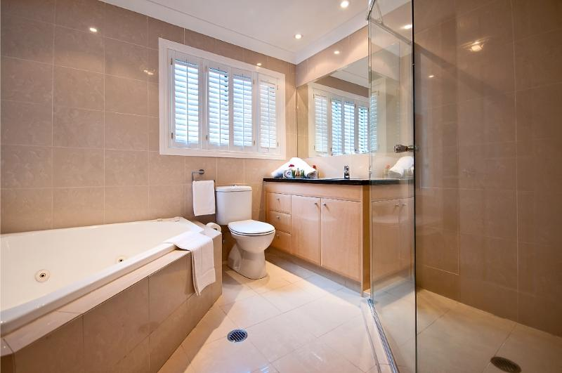 Ensuite with Spa and Separate Shower