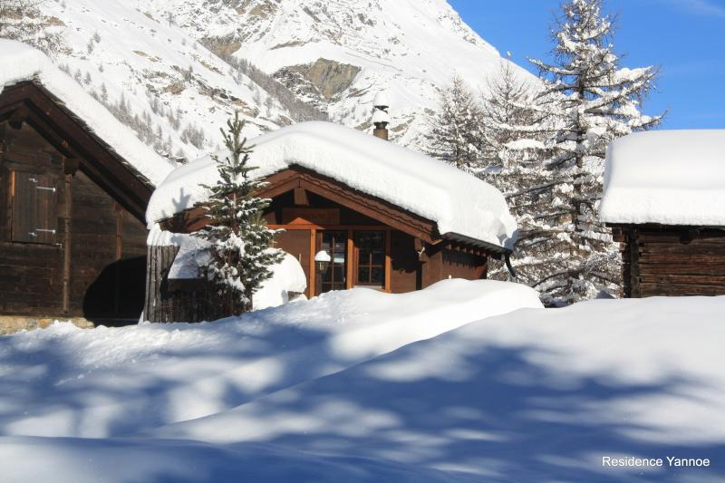 Chalet Z'Flesche, ski in - ski out, holiday rental in Canton of Valais