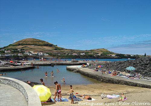 Natural Pool of Porto Martins