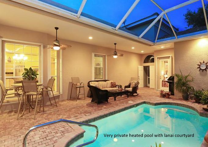 'NEW' Listing Upscale Pool Home - gated community - Venice Island Florida