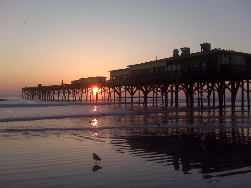 Sunglow pier sunrise