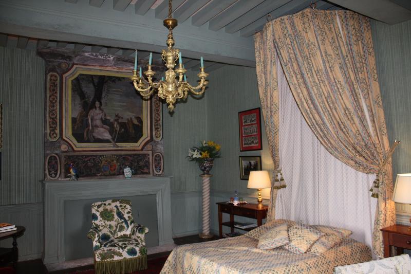 Chambre d'hôtes (Diane) au Château de la Tour, holiday rental in Prissac