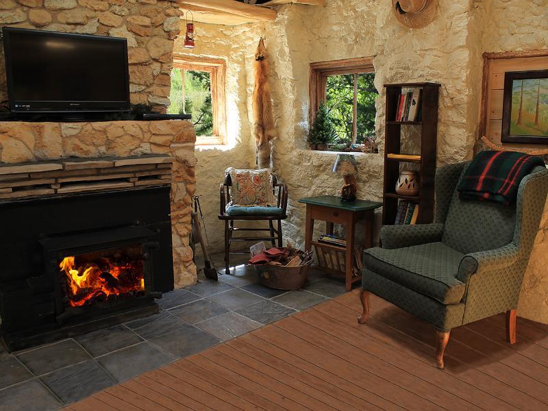 Cheminée Détendez-vous avec une cheminée au feu de bois