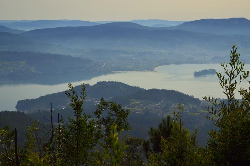 Vista desde el mirador del Lago Castiñeira