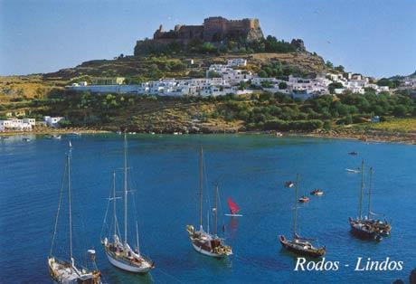 Lindos Villace on 20 minute drive away
