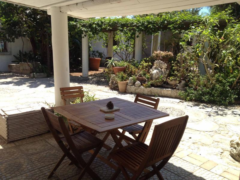 veranda fronte casa
