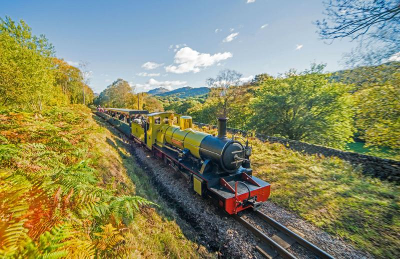 Eskdale and Ravenglass Narrow Gauge Steam Railway - 5 minutes' walk from the cottages!