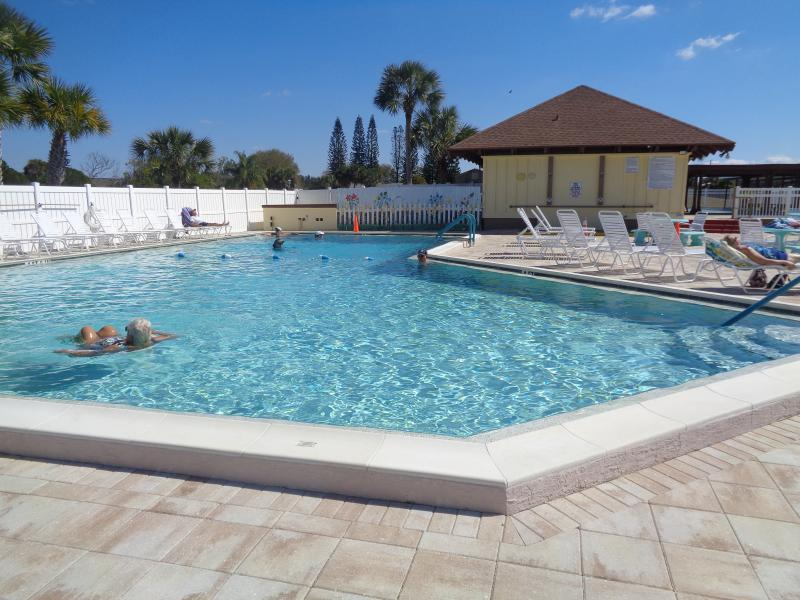 club house pool 80 degrees all year round