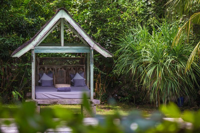 Traditional Balinese Bale for relaxation and socialising.