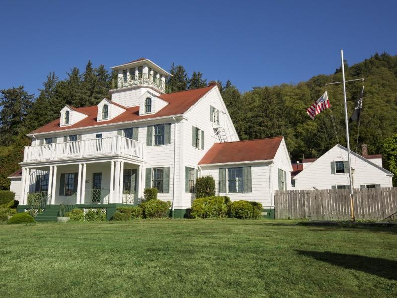 Historic Garibaldi Coast Guard Station
