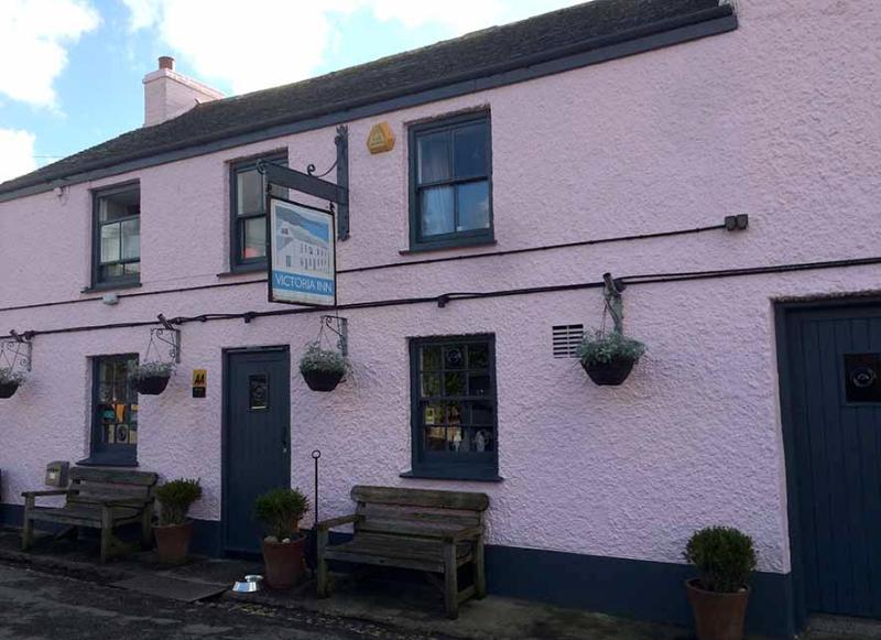 The Victoria Inn, an award-winning pub.