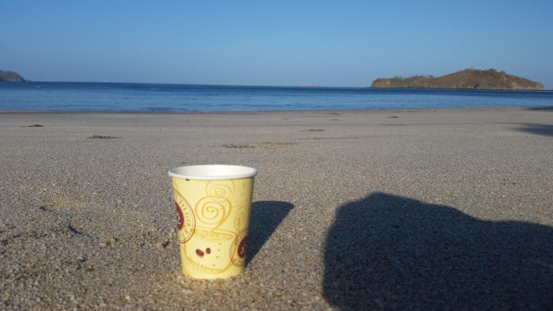 Grab a coffee from home, The Shack or Hibiscus (to-go cups at the house) and explore Playa Penca.