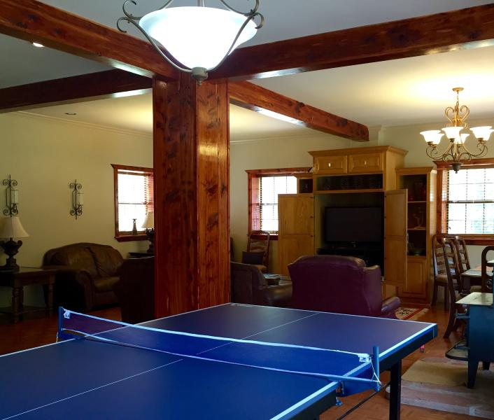 The grand gathering/ game room