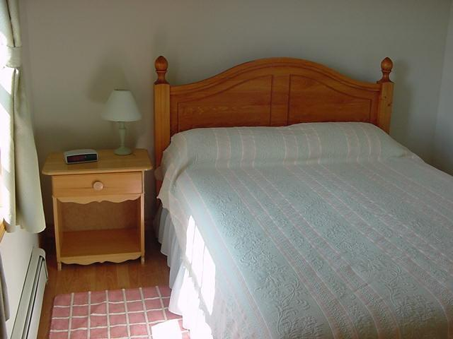 2 bedrooms with Queen size beds.