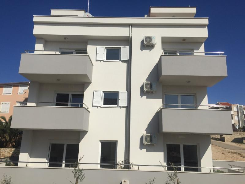Building with apartments situated in the most beautiful part of Novalja.