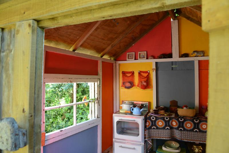 Inside of tree house