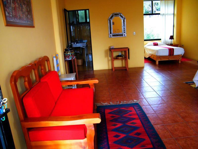 Tlaxcala room, sitting area.