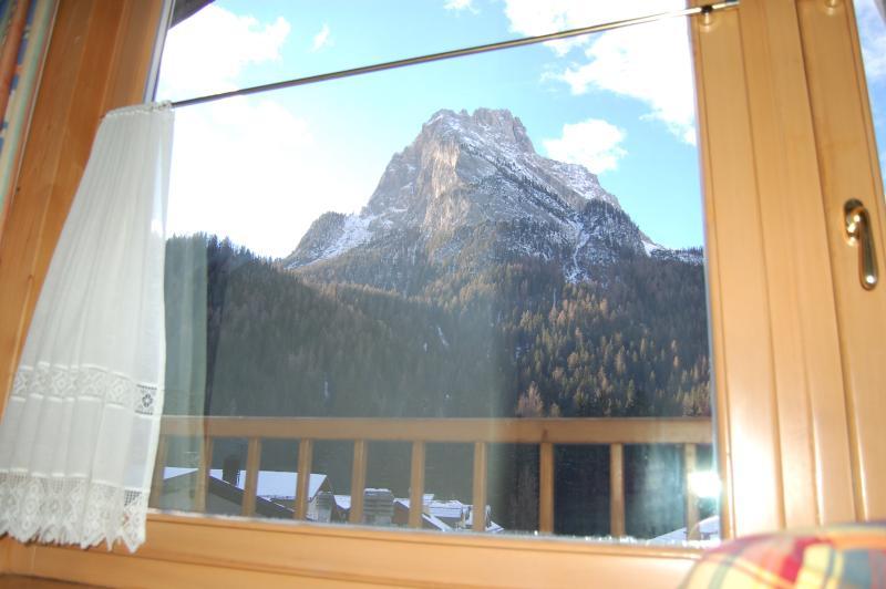 Vista panoramica dal salotto.
