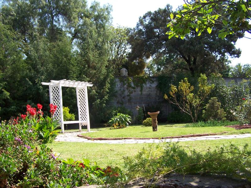 Upper garden.