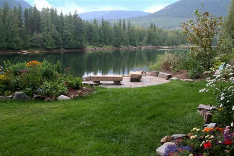 Spectacular Scenery at The Last Resort Vacation Cabin in Northern Idaho
