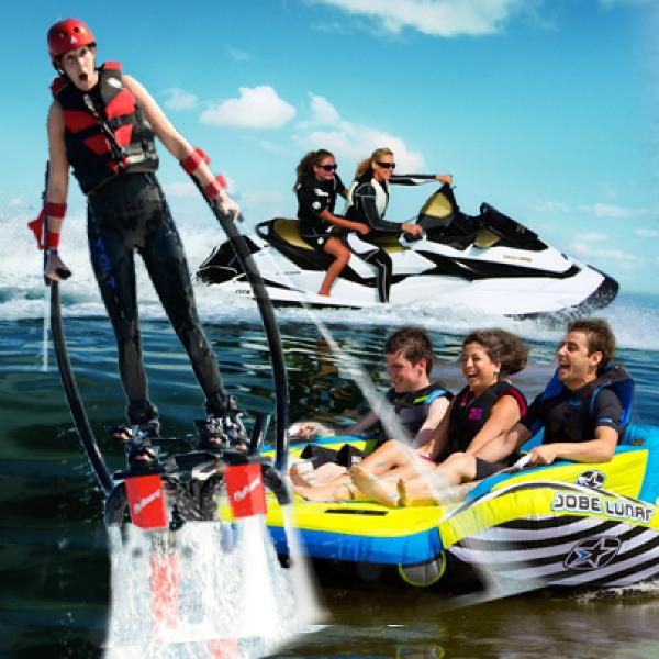 Jetski lake activities
