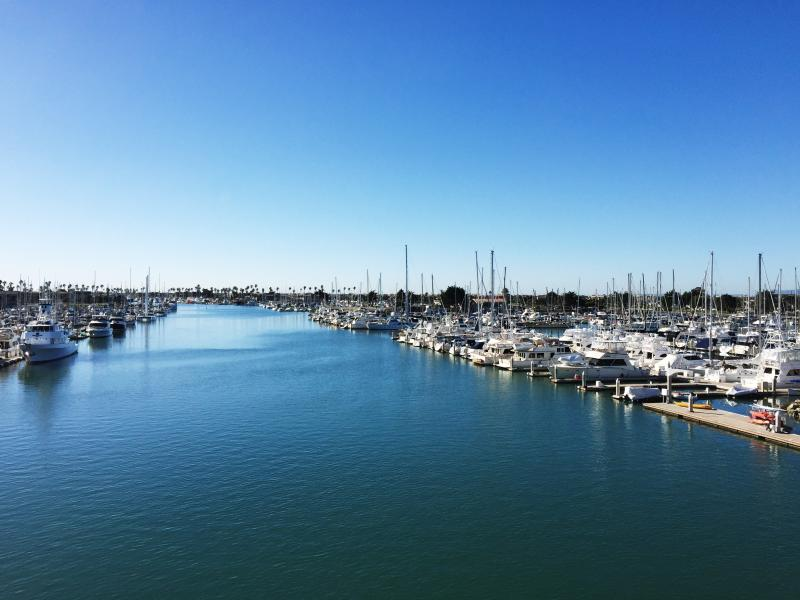Channel Islands Harbor is walking distance from the Beach Lodge and offers shops and eateries.