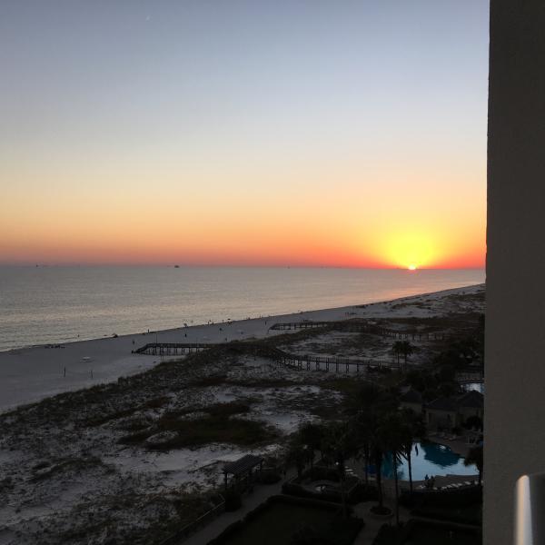 Sunset at the Beach Club