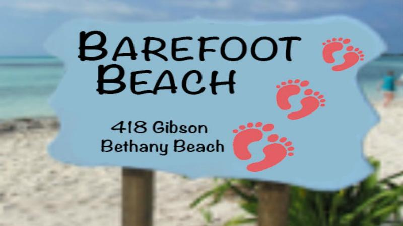 Kick off the flip flops and go Barefoot on Beach and at your home away from home.