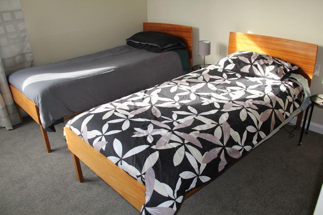 Bedroom 2. 2 x Single Beds
