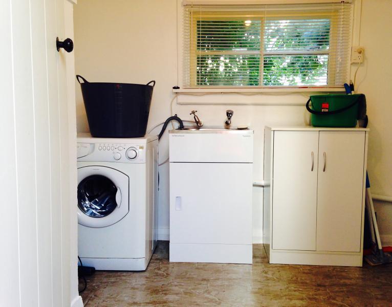 Laundry at Back