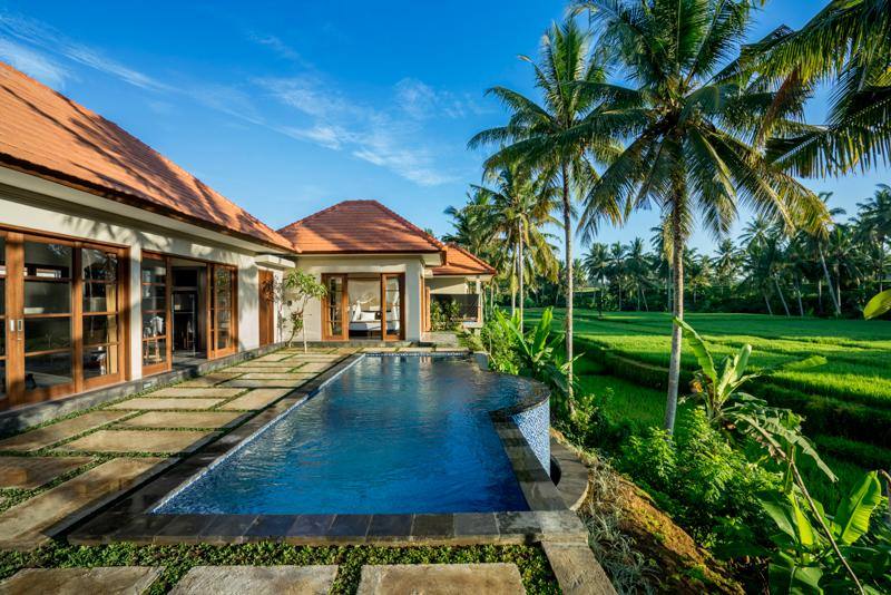 Villa GUSKU / 2 bedrooms, Private Pool, Ricefield view, vakantiewoning in Ubud