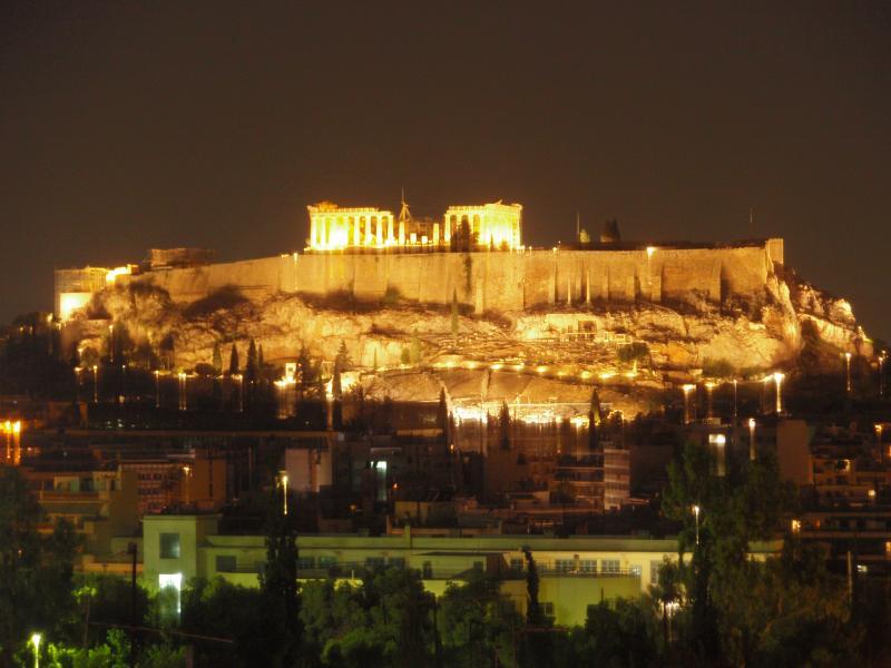 ACROPOLIS amazing night view