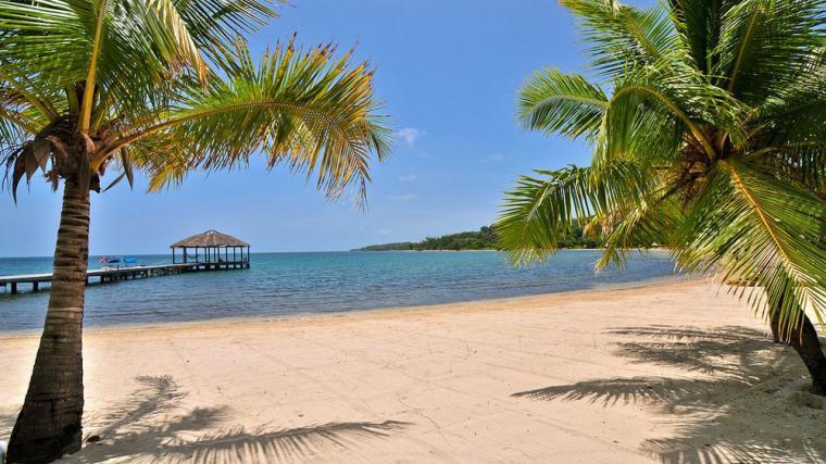 Casa Azul Turquesa @ PALMETTO BAY PLANTATION, alquiler vacacional en Dixon Cove