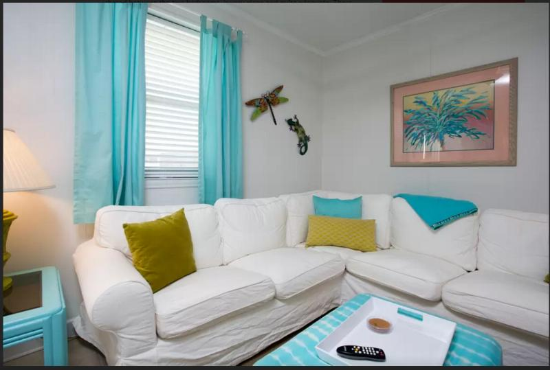 Wonderfully comfortable living room for sharing the good times with your family