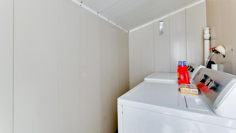 Shared Full-Size Washer and Dryer