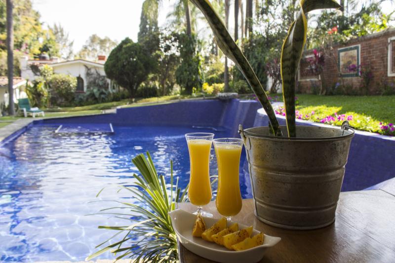 Mimosas at the Pool