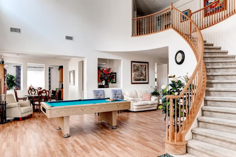 Looking into the beautiful living area