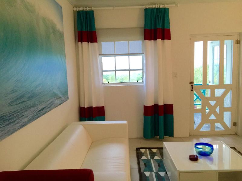 Unit 3 living Room looking at the Atlantic