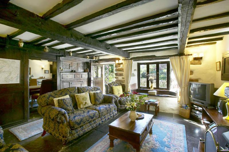 The Farmhouse oak panelled living room
