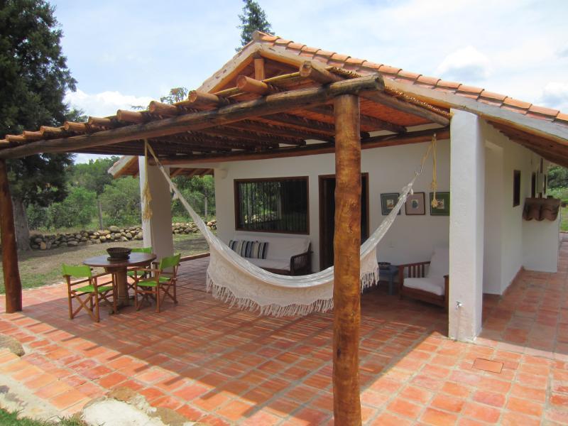 Alquiler Cabaña Junior suite, holiday rental in Villa de Leyva