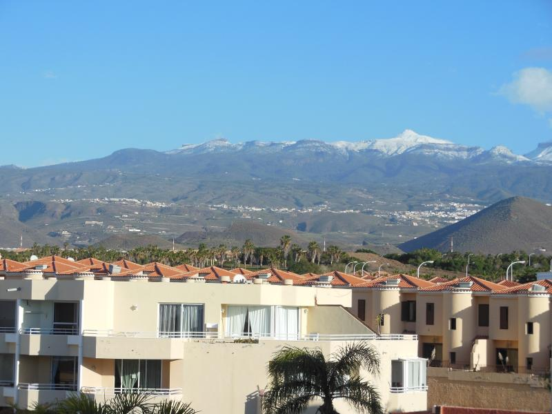 On a clear day you can see Mount Teide, the highest point in Spain