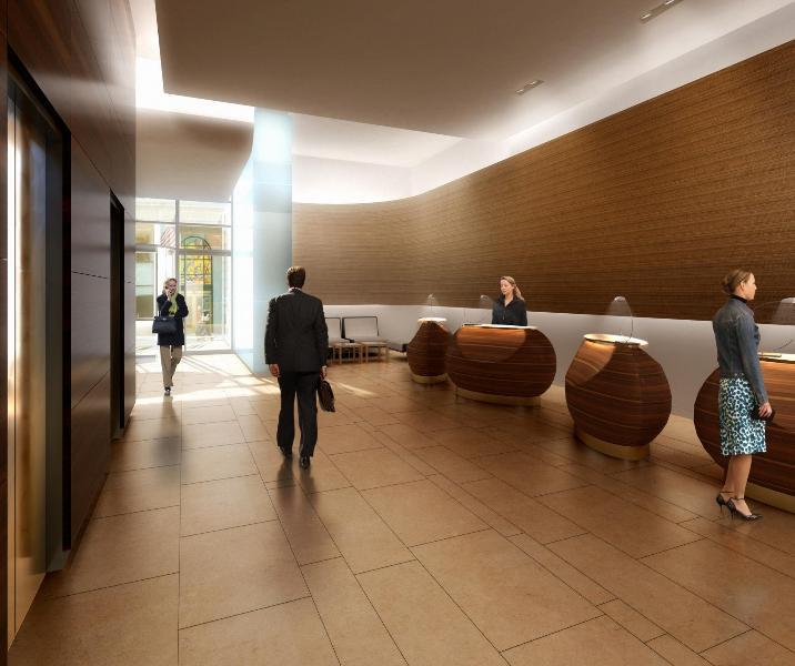 W57 Hilton Club Lobby