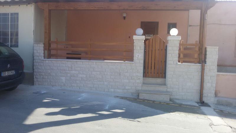 Villetta a Cornino fronte mare, holiday rental in Custonaci