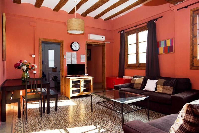 Colorful living area!