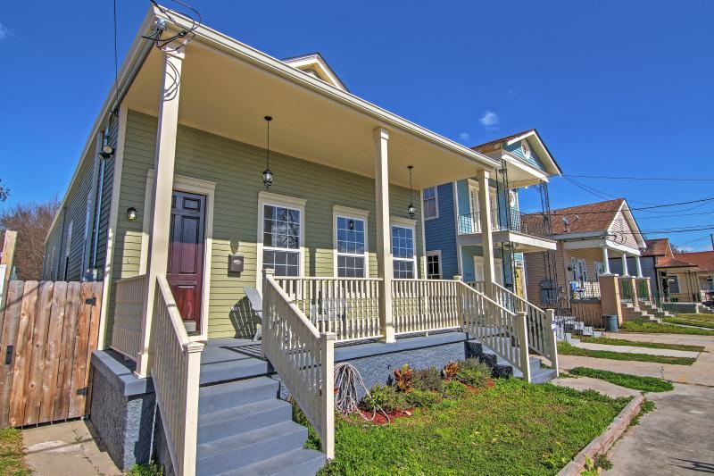 Choisissez cette magnifique Nouvelle-Orléans maison de location de vacances comme base pour votre escapade à la Big Easy!