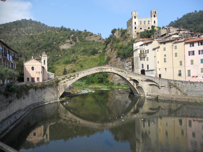 Medieval village of Dolceacqua in the Nervia Valley 45 minutes drive