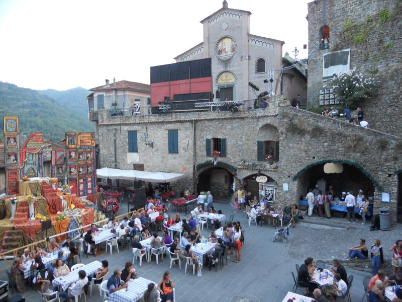 Medieval burg of Apricale Unesco Award 1 hour drive inside the Nervia Valley