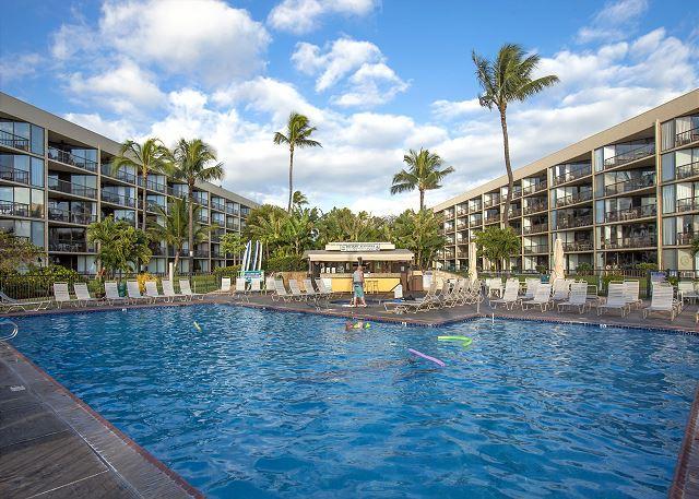 Maui Sunset #A-117 1Bd/2Ba, Oceanfront, Ocean View, Ground Floor, Sleeps 4, alquiler de vacaciones en Kihei