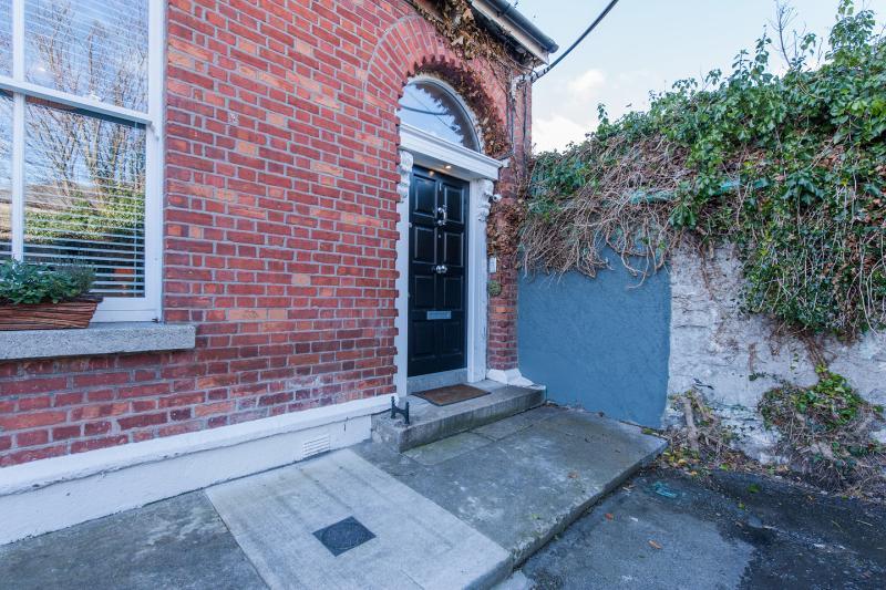 A classical Dublin door