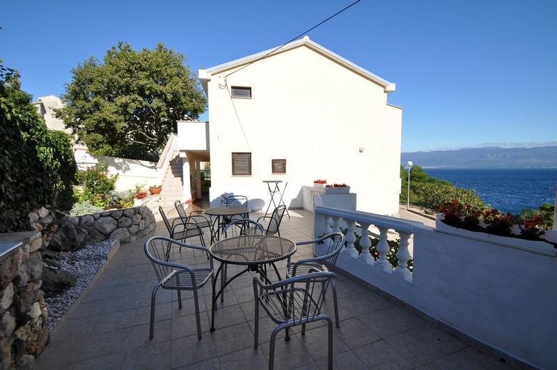 terrasse commune (maison et environs)